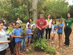 Dia da Árvore em Rancho Alegre do Oeste: segurança para as gerações futuras