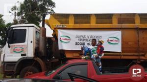 Goioerense comemora campeonato paranaense de Bicicross com carreata nas ruas da cidade