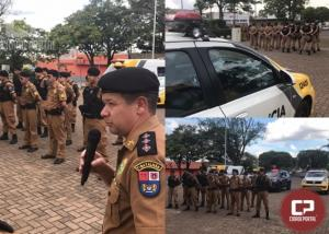 Operação Natal 2019 é lançada pelo 7º BPM em Cruzeiro do Oeste