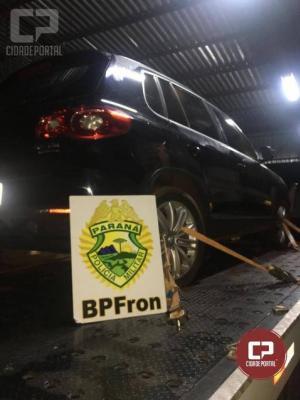 Batalhão de Polícia de Fronteira apreende cigarros em veículo na cidade de Guaíra-PR