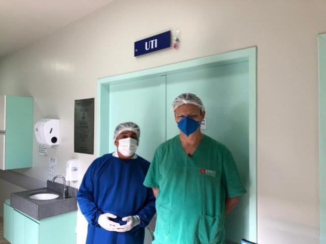 LUTA PELA VIDA - É a realidade que vive a UTI da Santa Casa de Goioerê no tratamento dos pacientes de Covid