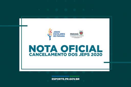 Núcleo Regional de Educação informa o cancelamento dos Jogos Escolares do Paraná - JEPS