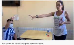 Professores de Educação Física da rede municipal dão show para os alunos no canal no YouTube
