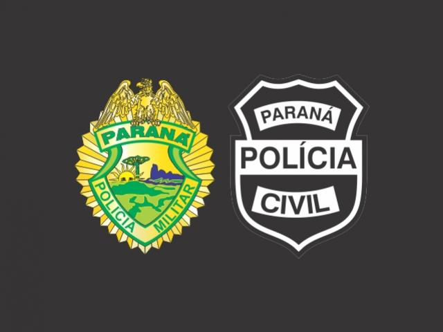 Polícias Civil e Militar cumpriram mandados de busca e apreensão em Goioerê