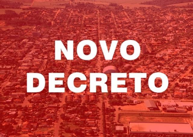 Prefeitura de Goioerê divulga novo decreto de enfrentamento ao Covid-19. Confira o que mudou!