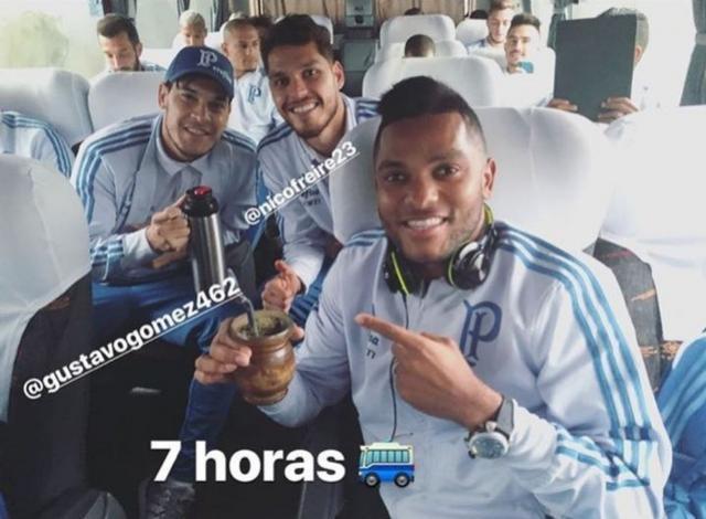 Mau tempo força Palmeiras a deixar Chapecó de ônibus e pegar voo em Porto Alegre