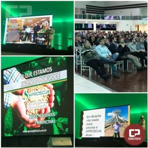 Aprosoja/PR promove mais uma edição do projeto Caminhos da Soja