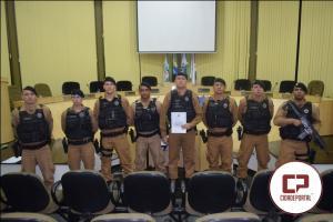 Forças policiais que atuaram contra quadrilha do mega-assalto no Paraguai recebem Moção de Aplausos