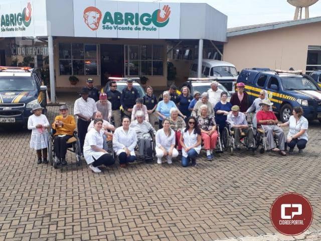 PRF faz passeio e confraternização no Paraná em comemoração a Semana Nacional do Idoso