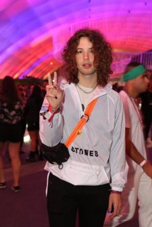 O festival de celebridades no primeiro finde do Rock in Rio - Lucas Jagger