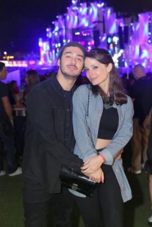 O festival de celebridades no primeiro finde do Rock in Rio - Marcos Veras e Rosanne Mulholland