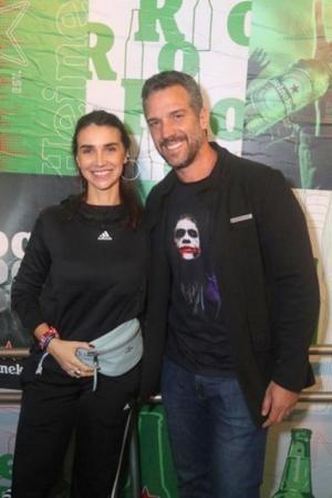 O festival de celebridades no primeiro finde do Rock in Rio - Keila Kerber e Carlos Bonow