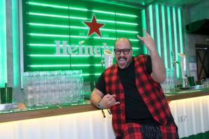 O festival de celebridades no primeiro finde do Rock in Rio - Tiago Abravanel