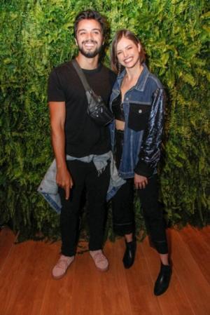 O festival de celebridades no primeiro finde do Rock in Rio - Rodrigo Simas e Agatha Moreira