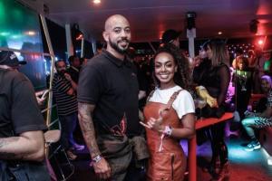 O festival de celebridades no primeiro finde do Rock in Rio - Alessandro Mota e Dandara Mariana