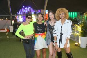O festival de celebridades no primeiro finde do Rock in Rio - Fernanda Paes Leme, Carol Sampaio, Agatha Moreira e Lucy Ramos