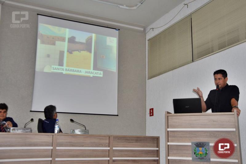 Vereador Abraão  visita Centros de Educação e Escolas para fiscalizar os avanços estruturais na Educação