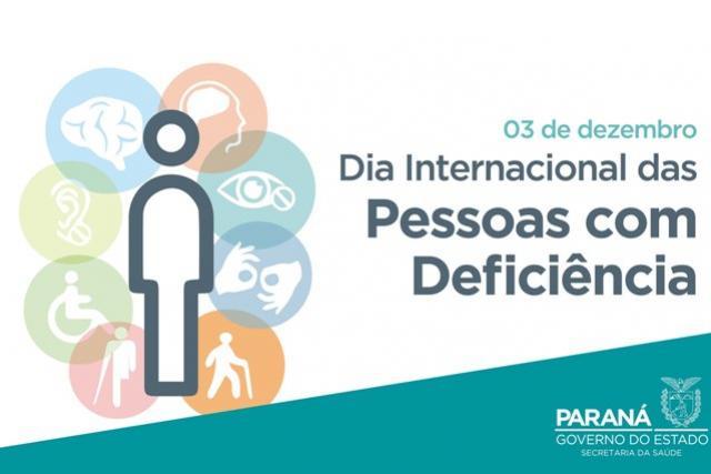 Saúde destaca ações voltadas a pessoas com deficiência no Paraná