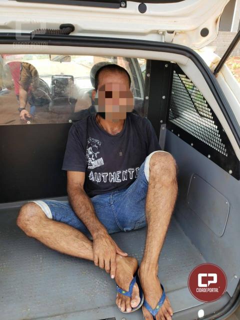 Homem é preso após tentativa frustrada de furto a residência em Marechal Cândido Rondon-PR