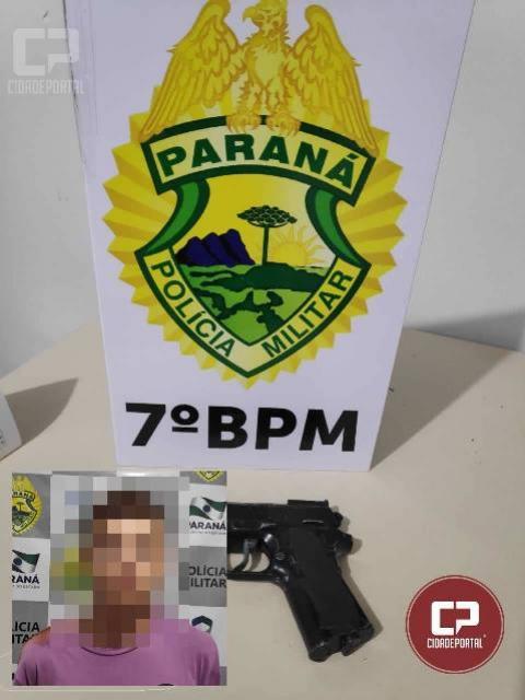 Polícia Militar de Goioerê prende autores de roubo a caminhonete na noite de domingo, 03