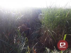 Polícia Militar localiza caminhonete roubada em Goioerê na noite de domingo
