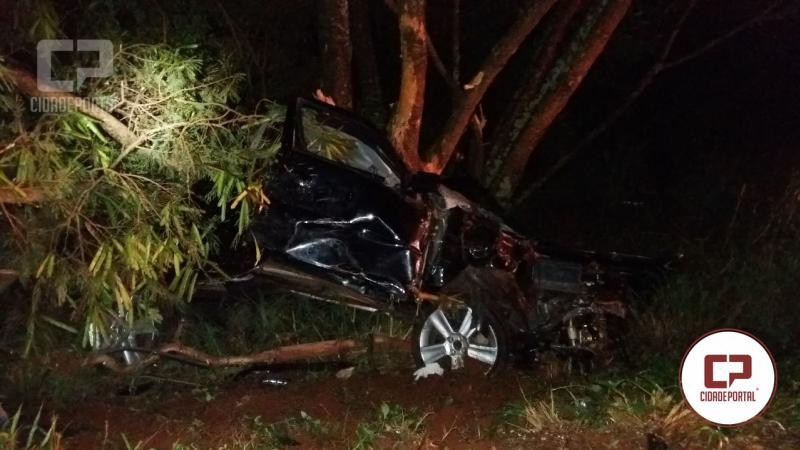 Jovem de 29 anos de Ubiratã perde a vida em acidente automobilístico na BR-369