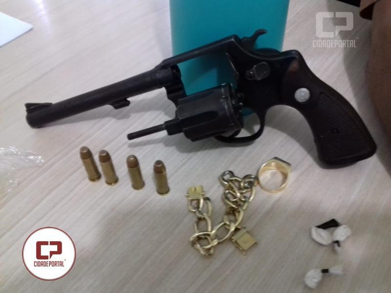 Policia Militar do 7º BPM prende autor de furto em Cruzeiro do Oeste