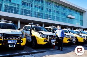Goioerê recebe viatura para Polícia Rodoviária Estadual