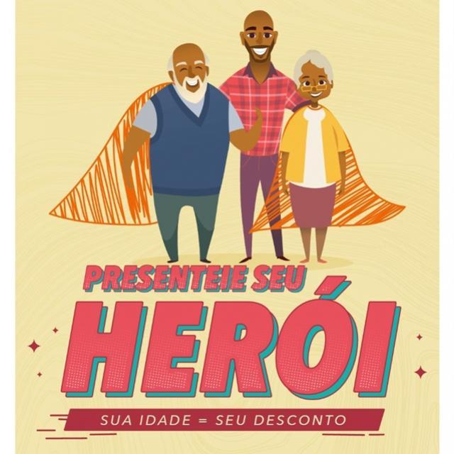 Supera Goioerê lança campanha para o dia dos Pais - Presenteie seu Herói