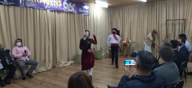 Casa da Cultura realiza encenação mostrando a história de Goioerê