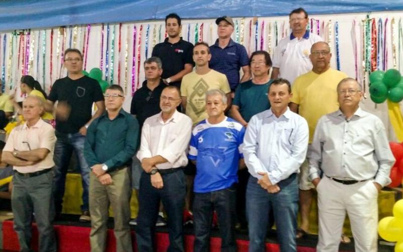 Prefeito Pedro Coelho participa da Abertura das Olimpíadas do Clube de Campo
