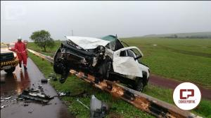 Tragédia na BR-369: Uma colisão frontal entre dois automóveis mata uma pessoa e deixa 5 feridos