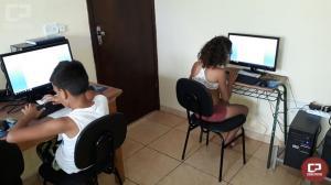 A Escola de Informática do projeto CREER continua com as suas atividades no ritmo acelerado