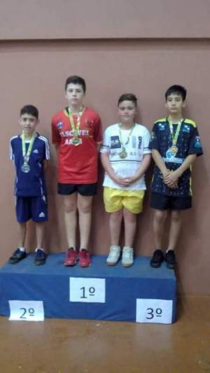 Atletas da Águas Claras TTPONG de Goioerê brilham na 5ª Copa Internacional de Tênis de Mesa