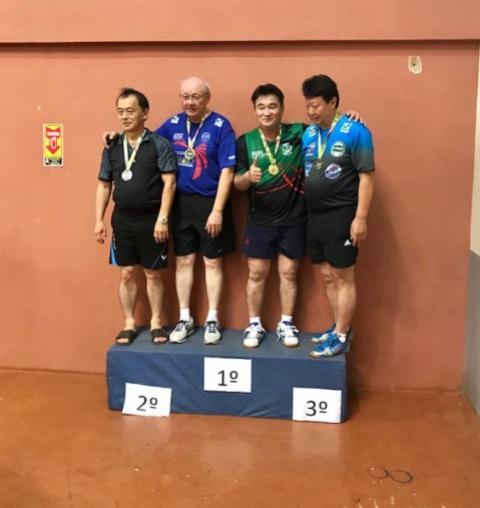 Equipe de Tênis de Mesa de Goioerê participou da 5ª Copa Internacional Antônio Kimura