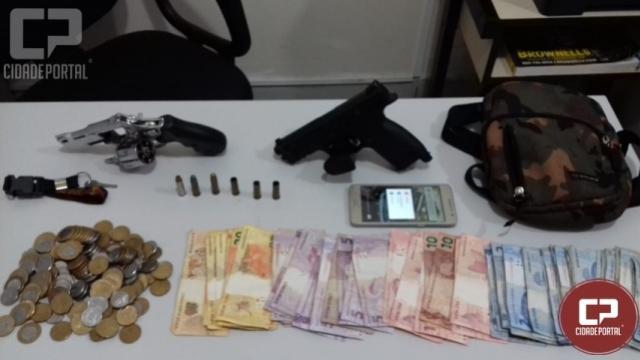 Ocorrência de roubo atendida em Marialva resulta em confronto armado em Sarandi