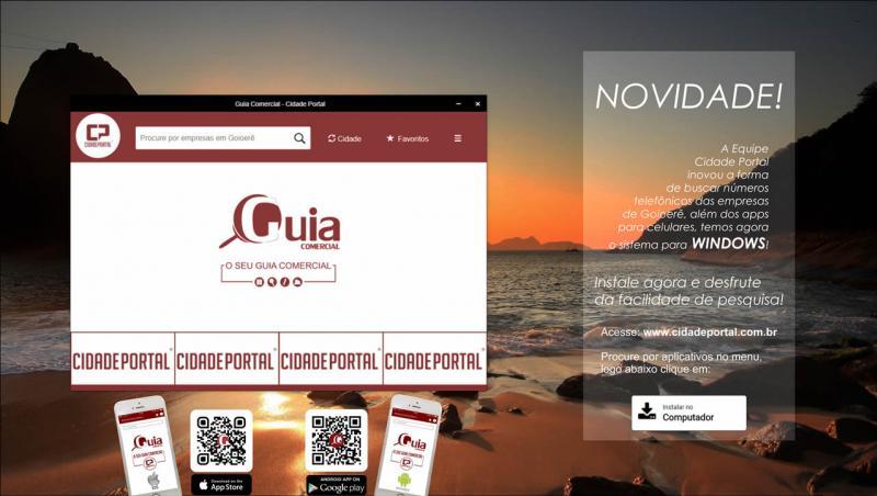 Instale o aplicativo Guia Comercial do Cidade Portal para Smartphone e Desktop
