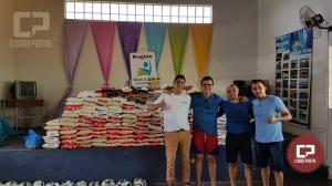 Mais de 1000 KG de alimentos foram arrecadados na quarta edição do jogo dos amigos