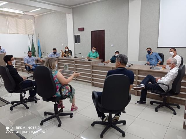 Prefeitura aguarda aprovação para dar andamento nas licitações da pavimentação nos BairrosJU e Águas Claras