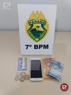 PM localiza e apreende em Goioerê veículo que foi roubado no município de Moreira Sales