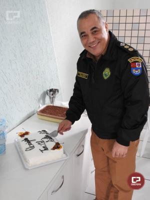 Tenente Coronel José da Silva Neto completa 35 anos de serviços e é homenageado no 7º BPM em Cruzeiro do Oeste
