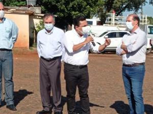 Marcel Micheletto formalizou doação de terreno do futuro SESC/SENAC à Goioerê