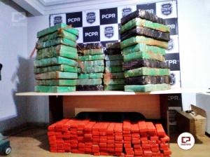 Em menos de 24 horas ações integradas da DENARC e PRF realizam três grandes apreensões de drogas