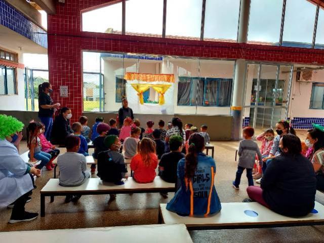 Cmei Bonifácio Cionek de Goioerê realiza atividades na semana da criança