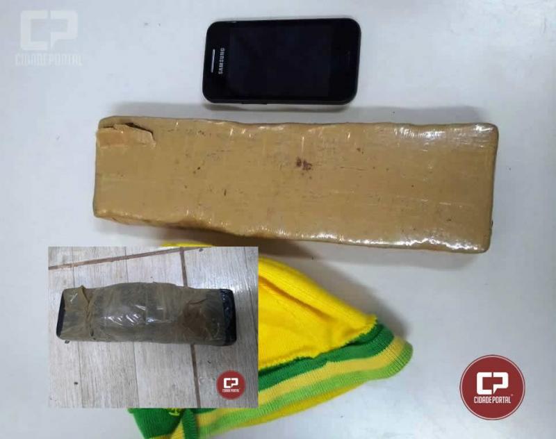 Equipes de plantão da Delegacia de Goioerê evitam que drogas e celular chegassem até os detentos