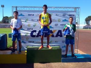 Atletas do Atletismo de Goioerê são destaques em competição estadual