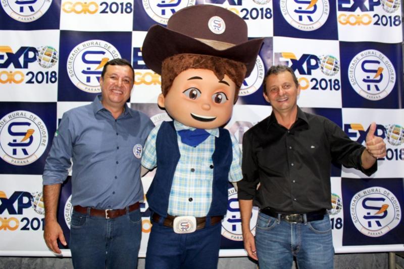 Pedro Coelho participa do lançamento da Expo Goio 2018 que terá como atração principal Matheus & Kauan