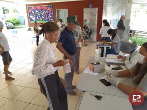 Vacinação contra gripe segue nesta terça-feira, 07 em Goioerê