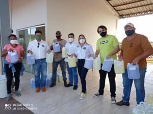 Prefeitura de Goioerê distribuiu produtos de limpeza doados pelo UTFPR