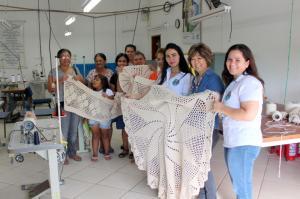 Projeto das Crocheteiras segue sendo desenvolvido em Goioerê